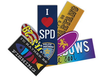 Various Bumper Stickers