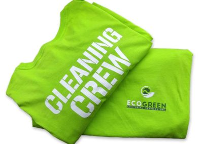 Custom T-Shirts for EcoGreen Uniform