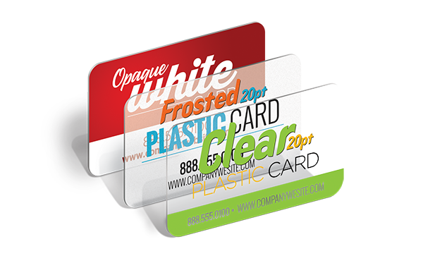 Sample Plastic Cards
