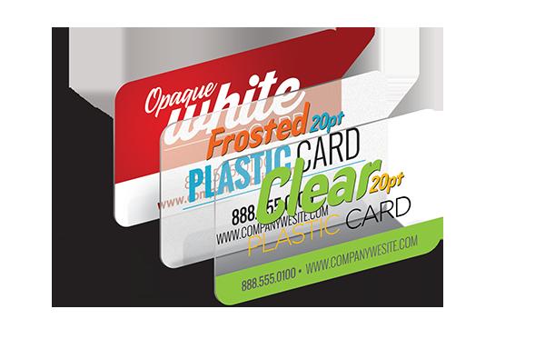 Sample Plastic Cards