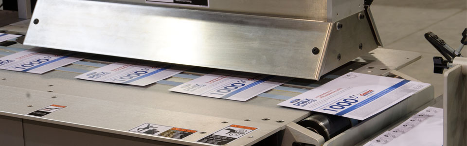 Direct Mail being printed