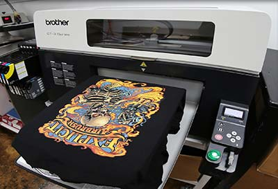 DTG Printing Process