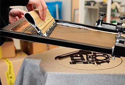 Screen Printing Process