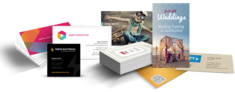 Sample Print Business Cards and Fliers