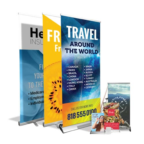 Trade Show Pop Up Displays & Table Top Displays