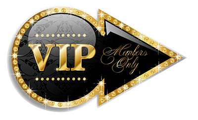 VIP Members Only SIgn