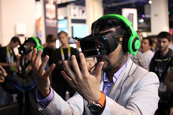 Virtual Reality at Event Show